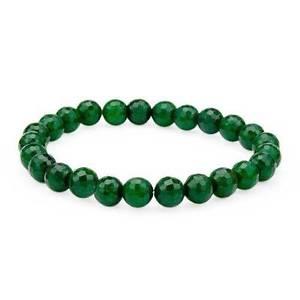 【送料無料】ブレスレット アクセサリ― エメラルドビーズストレッチブレスレット9700 ctw emerald beads stretch bracelet