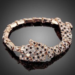 【送料無料】ブレスレット アクセサリ― タイガーレディースデザインブレスレットtiger bite design crystal bracelet for women ladies girls mb0015