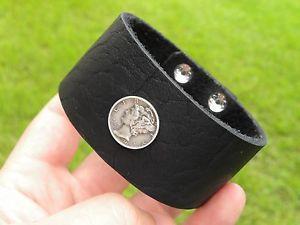 【送料無料】ブレスレット アクセサリ― ブレスレットバッファローシルバーダイムコインバイカーカウボーイカスタマイズcustomize quality bracelet buffalo silver mercury dime coin biker cowboy