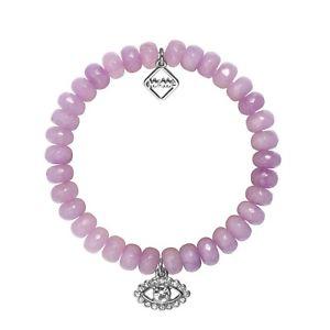 【送料無料】ブレスレット アクセサリ― ミームロンドンスパイブレスレットmeme london, eye spy , violet agate bracelet