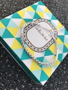 【送料無料】ブレスレット アクセサリ― stellドットウィーンブレスレットシルバーニューstell and dot vienna bracelet silver