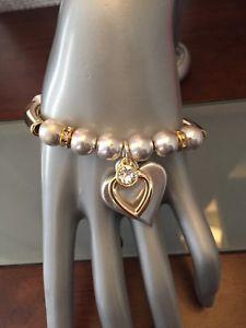 【送料無料】ブレスレット アクセサリ― ベストセラービビシルバーゴールドボールビーズブレスレット bestselling bibi bijoux silver and gold ball bead bracelet