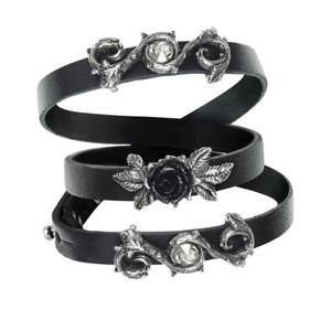 【送料無料】ブレスレット アクセサリ― ゴシックラップリストストラップalchemy rose of perfection gothic wrap wrist strap