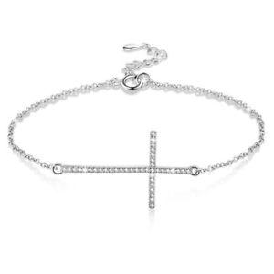 【送料無料】ブレスレット アクセサリ― ×クロスブレスレットスターリングシルバーブレスレット5xcross bracelets 925 sterling silver bracelet for women q4z1