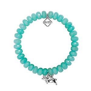 【送料無料】ブレスレット アクセサリ― memeロンドンブタトルコmeme london, when pigs fly, turquoise agate bracelet