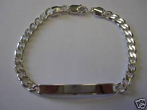 【送料無料】ブレスレット アクセサリ― スターリングシルバーアイデンティティブレスレットsterling silver, ladies identity id bracelet,