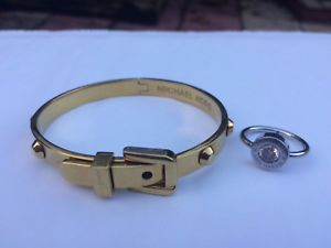 【送料無料】ブレスレット アクセサリ― michaelコールbracletmichael kors braclet and ring brilliance