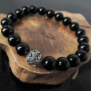 【送料無料】ブレスレット アクセサリ― ブレスレットスターリングシルバードラゴンビーズprotection courage bracelet sterling silver dragon bead amp; bright