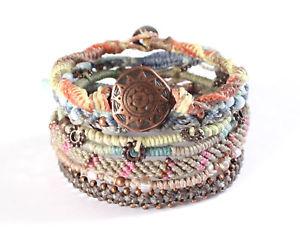 【送料無料】ブレスレット アクセサリ― wakamiブレスレットwakami earth bracelet morning