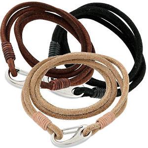 【送料無料】ブレスレット アクセサリ― オクタンitalianスエード 3octanes italian leather suede envelope bracelet 3 colourspouch included