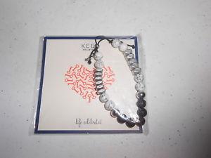 【送料無料】ブレスレット アクセサリ― ブレスレットhowlitekeep collective lava bead bracelet howlite