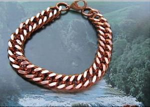 【送料無料】ブレスレット アクセサリ― 1インチ716912インチリンクブレスレットcb638gsolid copper 716 of an inch wide mens 9 12 inch link bracelet cb638g
