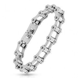 【送料無料】ブレスレット アクセサリ― ステンレスチェーンオートバイman bracelet stainless steel chain motorcycle