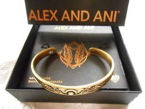 【送料無料】ブレスレット アクセサリ― アレックスカフブレスレットゴールドタグボックスカードalex and ani godspeed cuff bracelet raf gold wtag box card