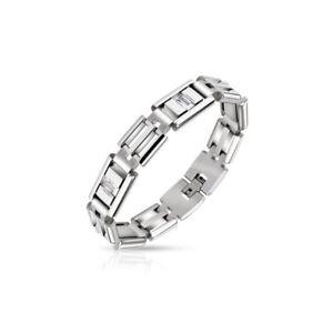 【送料無料】ブレスレット アクセサリ― ブレスレットステンレスジルコンbracelet stainless steel stones zircon