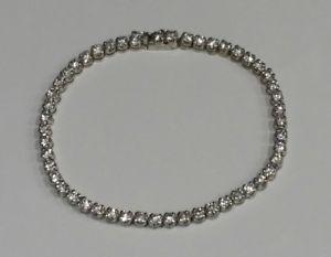 【送料無料】ブレスレット アクセサリ― テニスブレスレットスターリングシルバーbeautiful tennis bracelet sterling silver 925 cubic zerconia