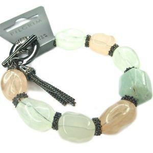 【送料無料】ブレスレット アクセサリ― スタイリッシュブレスレットpilgrim stylish bracelet from different coloured stones