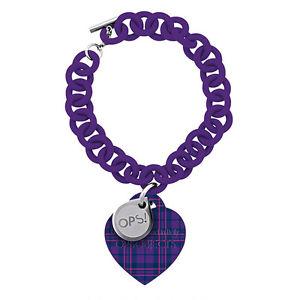 【送料無料】ブレスレット アクセサリ― ブレスレットタータンチェックメスoriginal ops bracelet ops tartan female purple opsbr192
