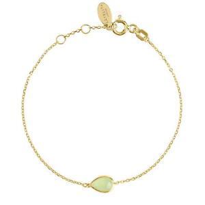 【送料無料】ブレスレット アクセサリ― ブレスレットゴールドライトグリーンアクアスモールミニlatelita bracelet gold light green aqua chalcedony small mini bridesmaid gift