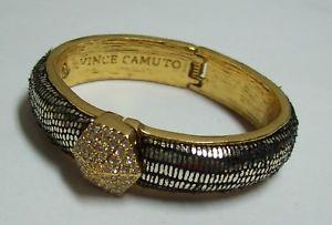 【送料無料】ブレスレット アクセサリ― ビンスラインストーンブレスレットvince camuto unusual rhinestone bracelet