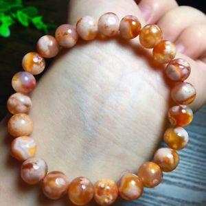 【送料無料】ブレスレット アクセサリ― チェリーピンクビードブレスレットnatural cherry pink agate gemstone beads bracelet aaaa 85mm
