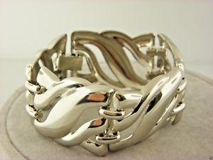 【送料無料】ブレスレット アクセサリ― シルバーファッションブレスレット#silver fashion statement bracelet 775 37
