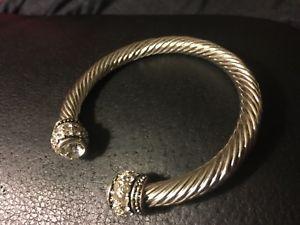 【送料無料】ブレスレット アクセサリ― ステンレススチールケーブルカフブレスレットデザイナーインスピレーションstainless steel, cable cuff, bracelet high quality designer inspired