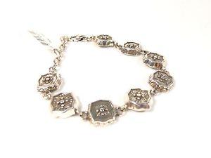 【送料無料】ブレスレット アクセサリ― ブライトンシルバーリンクブレスレットnwt ~brighton etched silver link bracelet ~ free shipping