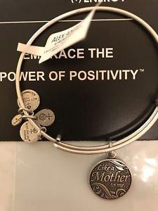 【送料無料】ブレスレット アクセサリ― アレックスnwt alex and ani silver braceletlike a mother to me