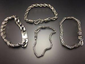 【送料無料】ブレスレット アクセサリ― スターリングシルバーブレスレットmen amp; women 100 925 sterling silver bracelet