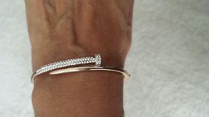 【送料無料】ブレスレット アクセサリ― ブレスレットステンレススチールゴールドブレスレットwomen bracelet, stainless steel gold bracelet, pave crystal stone