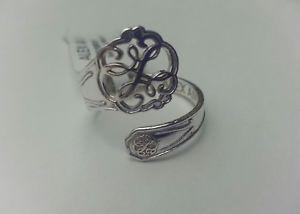 【送料無料】ブレスレット アクセサリ― アレックスパススターリングシルバースプーンリングボックスalex and ani path of life 925 sterling silver spoon ring nwt box rare