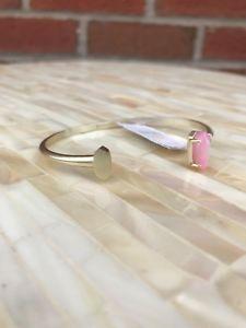 【送料無料】ブレスレット アクセサリ― スコットカフブレスレットローズクォーツタグnwt kendra scott vada cuff bracelet rose quartz w tags