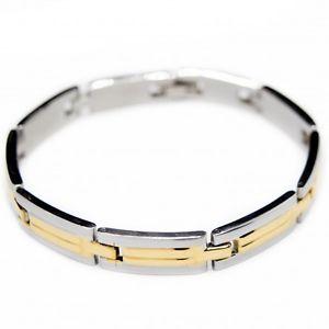 【送料無料】ブレスレット アクセサリ― スチールチェーンブレスレットclassic chain bracelet for men steel
