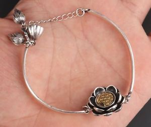 【送料無料】ブレスレット アクセサリ― スターリングシルバーブレスレットレディースprecious metal 925 sterling silver handcarved lotus statue bracelet ladies gift