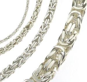 【送料無料】ブレスレット アクセサリ― ビザンチンブレスレットシルバーブレスレットbyzantine bracelet 210 mm silver bracelet anklet gift man woman
