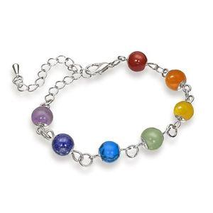 【送料無料】ブレスレット アクセサリ― レディースチャクラブレスレットladies chakra 7 semiprecious gemstone bracelet stunning luxury perfect gift