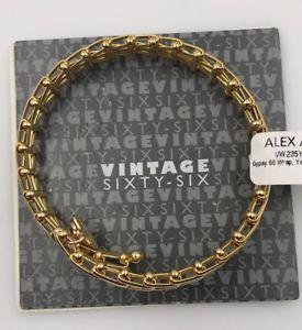 【送料無料】ブレスレット アクセサリ― アレックスジプシーラファエリアンゴールドブレスレットalex and ani gypsy 66 rafaelian gold finish bracelet nwtamp;mc