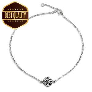 【送料無料】ブレスレット アクセサリ― ジュエリースターリングシルバーケルトノットブレスレットbling jewelry 925 sterling silver celtic knot triquetra anklet bracelet
