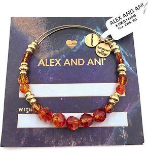 【送料無料】ブレスレット アクセサリ― アレックスブレスレットauthentic alex and ani fire gold polished bracelet a16eb147sg nwtamp;mc