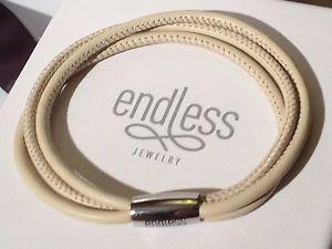 【送料無料】ブレスレット アクセサリ― ヌードブレスレットトリプルストリングシルバークラスプendless jewelry 19cm nude bracelet triple string silver clasp rrp 45