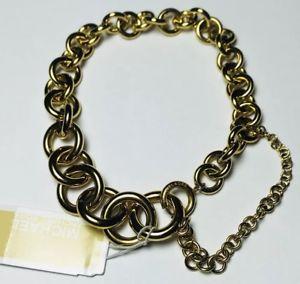 【送料無料】ブレスレット アクセサリ― ミハエルブレスレットゴールドトーンチェーンリンクデザイナーnwt michael kors bracelet gold tone chain link designer heritage graduated
