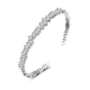【送料無料】ブレスレット アクセサリ― ブレスレットbracelet open lacework adjustable irregular gold plated cz 4mm marriage g7 1