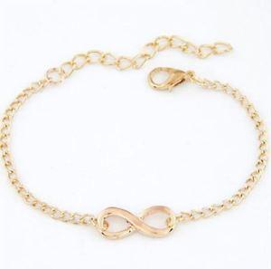 【送料無料】ブレスレット アクセサリ― ブランドホットセールファッションブレスレットbrand hot fashion infinity gold bracelet jewelry bijoux for men women