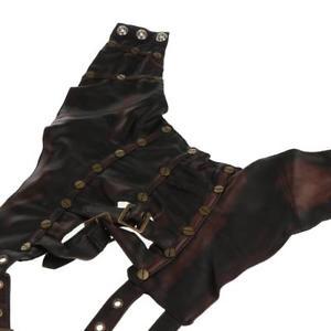 【送料無料】ブレスレット アクセサリ― レザーアームウォーマーボレロショールコスプレsteampunk leather arm warmer bolero shawl cosplay costume for women girls