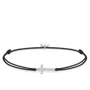 【送料無料】ブレスレット アクセサリ― トーマススターリングシルバークロスブレスレットgenuine thomas sabo little secrets sterling silver cz cross bracelet ls013