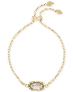 【送料無料】ブレスレット アクセサリ― スコットチェーンブレスレットメッキnwot kendra scott elaina adjustable chain bracelet gold plated with clearcrystal