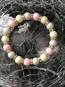 【送料無料】ブレスレット アクセサリ― ブレスレットハンドメイドスワロフスキークリスタルgemstone bracelet handmade from high quality swarovski crystal pearls