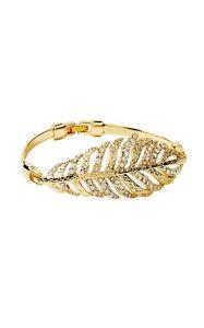 【送料無料】ブレスレット アクセサリ― リリーフェザーラインストーンブレスレットドルlilly pulitzer nwt birds of a feather rhinestone amp; gold bracelet 48