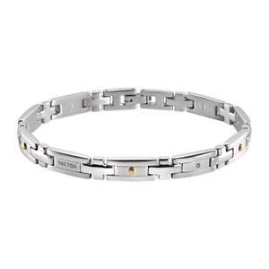【送料無料】ブレスレット アクセサリ― ブレスレットスチールブレスレットゴールドbracelet man sector basic sli57 steel bracelet gold